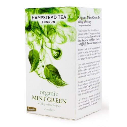 BIO zelený čaj s mátou 25ks