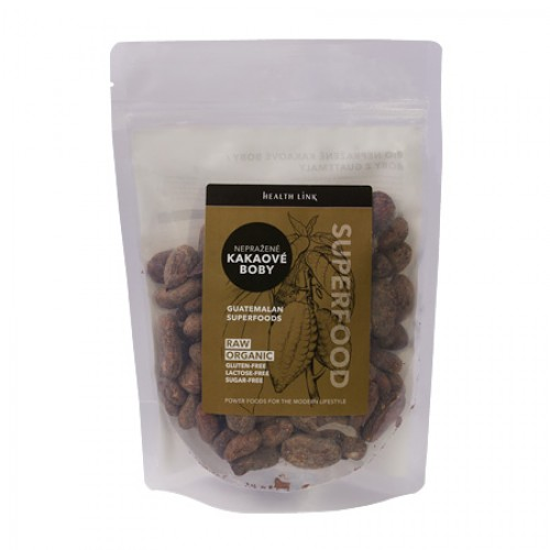 Nepražené kakaové boby 250g