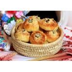 Slovácké svatební převalované koláčky, hřebeny, jablečňáky, přírodní sirupy