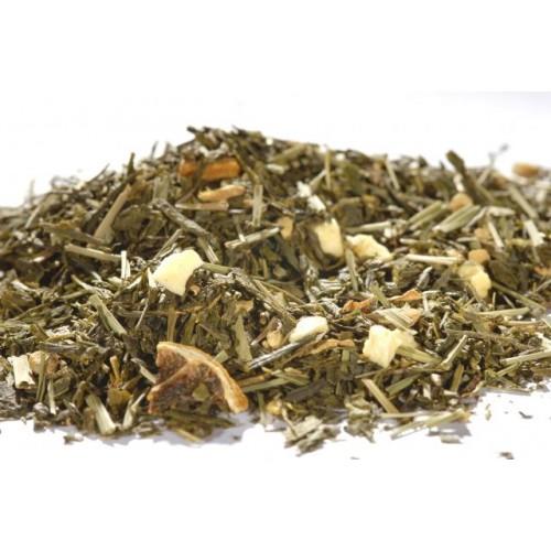 MAGICKÝ ZÁZVOR S CITRÓNEM - zelený čaj - 1000 g