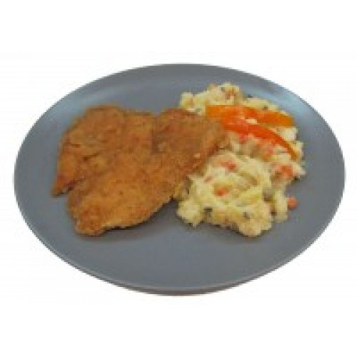 Menu - Kuřecí prsíčka smažená bramborový salát s majonézou