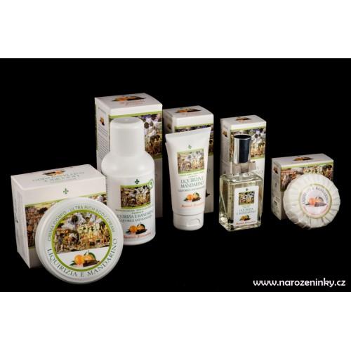 Derbe kosmetika - dárková krabička Lékořice a Mandarinka - kompletní sada