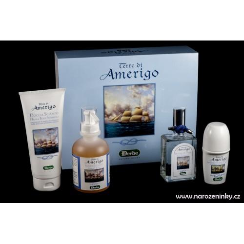Derbe kosmetika- Terre di Amerigo - koupelová dárková sada pro muže s mořskou vůní