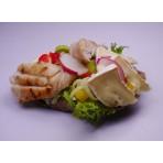 Chlebíček FIT zelenina a kuře