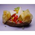 Chlebíček FIT zelenina a sýr
