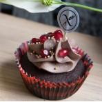 Bezlepkový veganský cupcakes dortíček čokoláda
