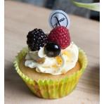 Bezlepkový veganský cupcakes dortíček vanilka