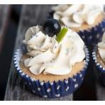 Veganský cupcakes dortíček borůvka a citron