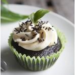 Veganský cupcakes dortíček máta a čokoláda