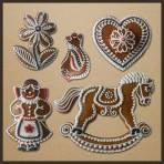 Tradiční perník, perníkové ozdoby