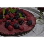 Raw dort ostružinový