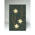 Vánoční přání - hvězdy