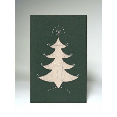 Vánoční přání - strom