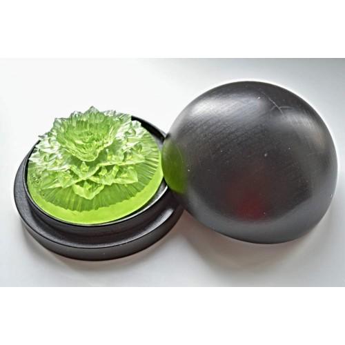 Vyřezávané mýdlo - Karafiát d. - meduňka - průhledné