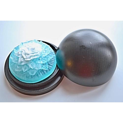 Vyřezávané mýdlo - Karafiát d. - oceán -dvoubarevné
