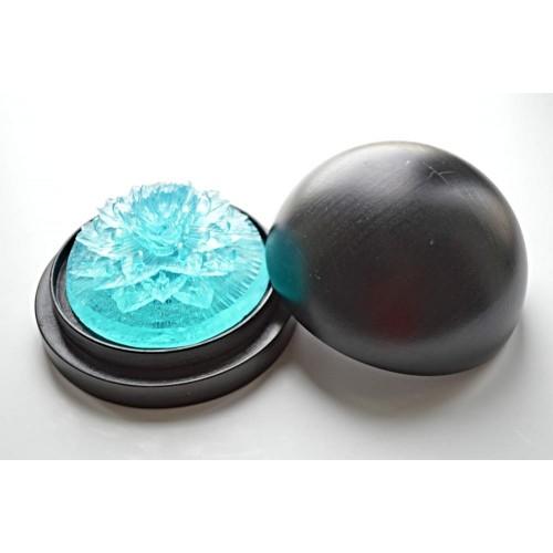 Vyřezávané mýdlo - Karafiát d. - oceán - průhledné