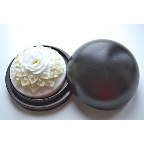 Vyřezávané mýdlo - Karafiát divoký - pozlacené